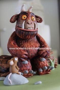 Gruffalo cake - Cake by Zoe's Fancy Cakes Fondant Toppers, Fondant Cakes, Cupcake Cakes, Cupcakes, Zoes Fancy Cakes, Gruffalo Party, Gravity Cake, Woodland Cake, 2 Birthday Cake
