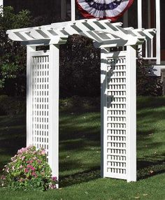 Brookfield Arbor | Wood Arbors, Vinyl Arbors From Walpole Woodworkers
