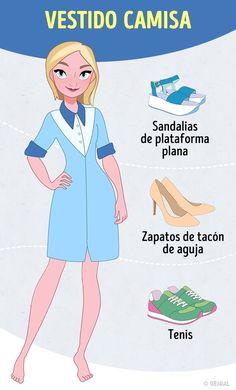 Tips infalibles para elegir calzado para 14tipos devestido