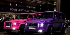 G wagon in pink & purple... yes please!!