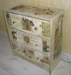 Декупаж мебели (фото) 18