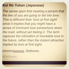 Koi No Yokan  This is what happened with me and my love, it just took another three years to come true <3