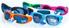 Kidz Eyewear Children's Assorted Sunglasses - 48 Units