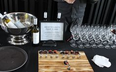 Days of Wine and Chocolate - a passport event organized by the  Wineries of Niagara-on-the-Lake. This wine and food pairing is 2010 Tollgate Fume Blanc with Roasted Fennel, Beet and Chocolate Salad.