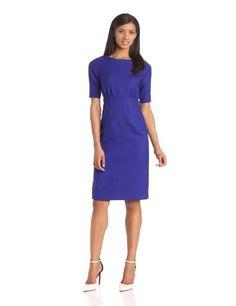 Pendleton Women's Debonair Elbow Sleeve Dress #workdresses