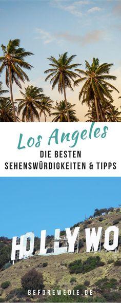 Los Angeles Travel Guide für einen Tag