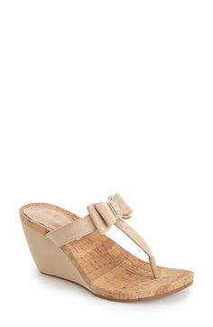 527d751a464 BCBGeneration  Michelle  Wedge Sandal (Women) available at  Nordstrom Nude  Wedges