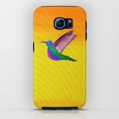 Hummingbird Sunset iPhone & iPod Case