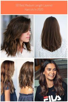 50 Best Medium Length Layered Haircuts in 2019 - Hair Adviser #medium haircut 50 Best Medium Length Layered Haircuts in 2020 - Hair Adviser