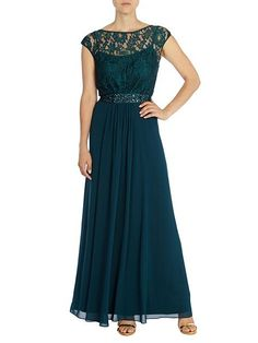 Lori lee lace maxi dress