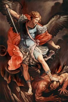 Arcangel San Miguel del pintor Guido Reni