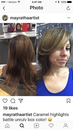 Color and cut make over