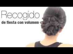 Recogido de fiesta con volumen. Volume updo for any party occasion.