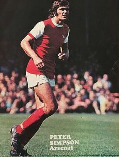 Peter Simpson of Arsenal in 1971.