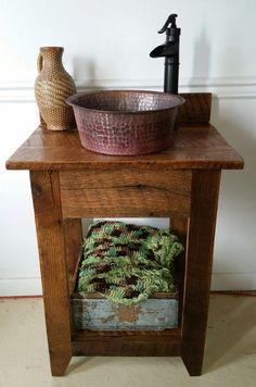 Hey, I found this really awesome Etsy listing at https://www.etsy.com/listing/280456944/rustic-barn-wood-mini-vanity-with