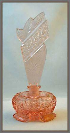 circa 1920's Czech Perfume Bottle