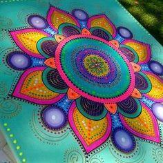 Romi Lerda (@romi_lerda_art) | Instagram photos and videos Mandala Art, Mandala Painting, Dot Art Painting, Tole Painting, Tattoo Shoulder Men, Pintura Tole, Hand Painted Furniture, Mandala Coloring, Painting Inspiration