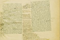 """"""" Marcel Proust, Swann's Way, 1913. Corrected sheets """""""