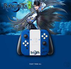 Joy Con Bayonetta. If U like it, follow me on Twitter ! joycon, nintendo switch, dock, joy-con