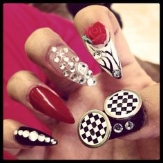 #3d #random #nail art