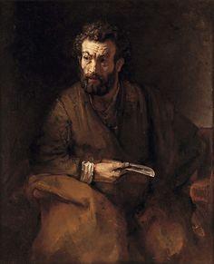 Rembrandt (Rembrandt van Rijn) | Saint Bartholomew | The Met