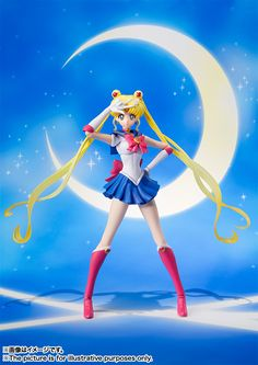 S.H.Figuarts Sailor Moon – Sailor Moon Crystal.