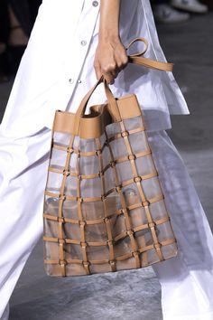 3 1 Phillip Lim at New York Fashion Week Spring 2020 - Details Runway Photos Popular Handbags, Cute Handbags, Best Handbags, Cheap Handbags, Fashion Handbags, Purses And Handbags, Fashion Bags, Fashion Accessories, Luxury Handbags
