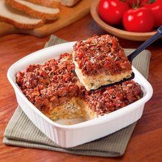 Cook | Recipe Finder | Creamy Italian Pasta Bake | Cargill Ground Beef