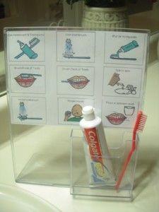 Pour la routines du brossage de dents