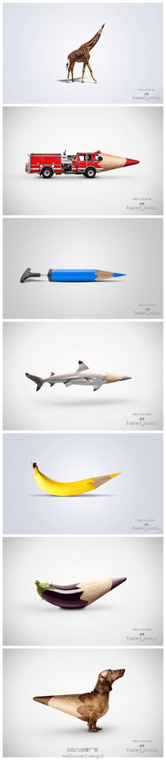 "Faber-Castell Ads ""True Colours"""