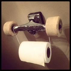 brand0llaz: cls18: Independent Trucks Toilet Paper Holder! Wow, ass wiping just got better.