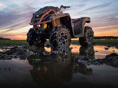 New 2016 Can-Am Outlander L X mr 570 ATVs For Sale in Missouri. 2016 Can-Am Outlander L X mr 570, Price shown is based on the manufacturer's suggested retail price (MSRP) and is subject to change. MSRP excludes destination charges, optional accessories, applicable taxes, installation, setup and/or other dealer fees. 2016 Can-Am® Outlander L X mr 570 THE MOST ACCESSIBLE MUD-READY ATV ON THE MARKET. The most accessible mud-ready ATV on the market. Take on any mud hole with confidence and…