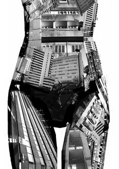 Brave New World illustration Martha Williams technology body