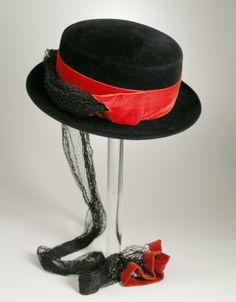 Woman's Sailor Hat  Chanda (United States, millinery Label, 20th century)  United States, circa 1949