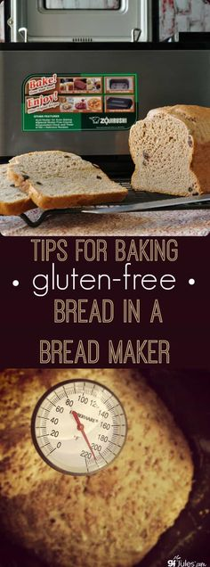 Tips for Baking gluten free Bread in a Bread Maker - one of the most popular posts on gfJules.com ... because they Work!