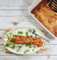 Mexican Roasted Vegetable Enchiladas
