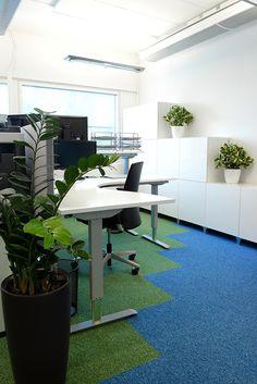 detaljee+5+sisustussuunnittelu+sisustussuunnittelija+interiordesigner+interior+helsinki+pääkaupunkiseutu+toimistosuunnittelu+kokolattiamatto+Desso+koolmat+toimistokalusteet+sähköpöytä+Tuolimies+silkkikasvit+Viherviisikko