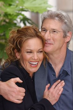 "Diane Lane / Richard Gere.  Never married, but great at playing a couple in their 3 films together: ""The Cotton Club"" in 1984. ""Unfaithful,"" in 2002 and ""Nights in Rodanthe"" in 2008."