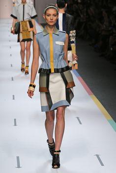 Fendi RTW Spring 2013 - Runway, Fashion Week, Reviews and Slideshows - WWD.com