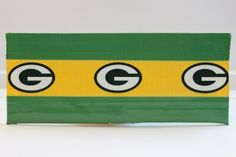 Duct Tape Wallet (Bi-Fold) - Green Bay Packers, $15.  We are also on Etsy at:  www.junorduck.etsy.com.