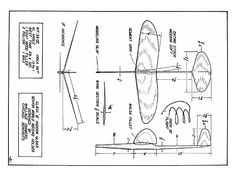 Worlds Record Glider - plan thumbnail - Pinto Online Airplane Magazine, Airplane Crafts, Craft Sites, Plane Design, Paper Plane, Aircraft Design, Model Airplanes, World Records, Old Art
