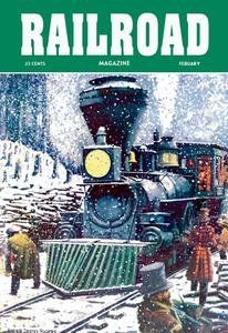 30 x 20 Stretched Canvas Poster Railroad Magazine: Through the Snow, 1952 This image is one a collection of vintage art.. Canvas prints are Gallery Wrapped.. Images are kept as true to the originals as possible.. All posters from American Wholesaler Org are made on demand one-at-a-time for our valued customers.. Shipping for first item is $7.98 and $3.99 for each additional item from our store..  #Buyenlarge #Home