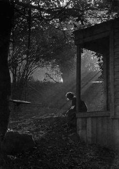 Imogen Cunningham In Moonlight, 1911