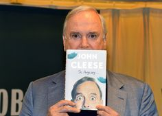 Actor/comedian John Cleese signs copies of his book So, Anyway at Barnes & Noble, 5th Avenue on November 4, 2014 in New York City. (Slaven Vlasic/Getty Images)