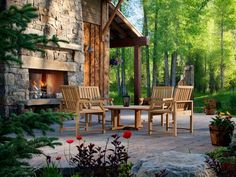 Looking for entertaining ideas for your outdoor space? Browse pictures of bars and outdoor dining ideas and options on HGTVRemodels.