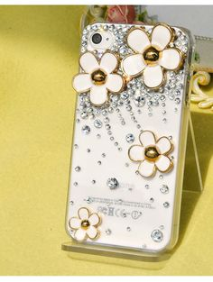 Little Daisy  Diamonds  Transparent case  loves by dnnayding, $19.99