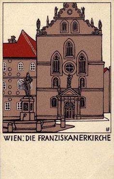 138. Urban Janke, Wiener Werkstätte postcards