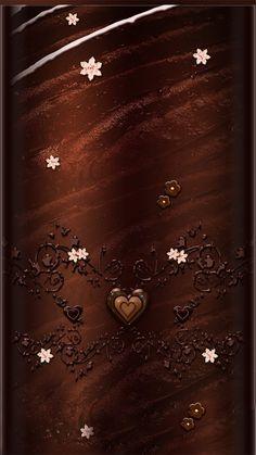 Phone Background Wallpaper, Wallpaper Wa, Flowery Wallpaper, Brown Wallpaper, Luxury Wallpaper, Cute Wallpaper For Phone, Heart Wallpaper, Colorful Wallpaper, Cellphone Wallpaper