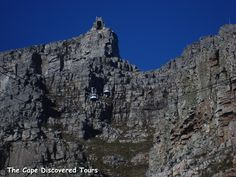 The journey to the summit of Table Mountain takes between 4-5 minutes and offers spectacular views of Cape Town.