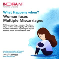 Multiple miscarriages define as having two or three miscarriages continuously and they affect a female's physical and mental health. To avoid the risk of multiple miscarriages you can visit Top Fertility Clinics in India. Ivf Center, Baby Center, Centre, Causes Of Infertility, Female Infertility, Ivf Treatment, Infertility Treatment, Indian Parenting, Indian Family